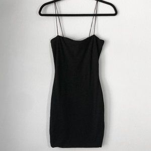 """Better Be"" Black Body Con Dress, Size S"